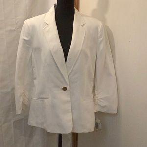 Kasper Women's White Blazer
